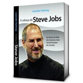 Livro A cabeça de steve jobs